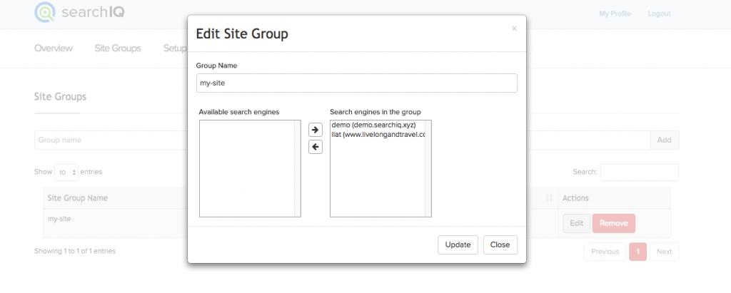 create cross-site groups